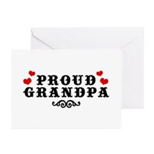 Proud Grandpa Greeting Cards (Pk of 10)