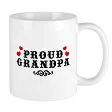 Proud Grandpa Small Mug