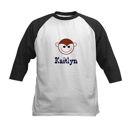 Kaitlyn - Monkey Face Kids Baseball Jersey