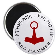 Red Hammer Magnet