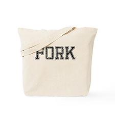 FORK, Vintage Tote Bag