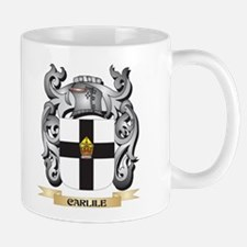 Carlile Family Crest - Carlile Coat of Arms Mugs