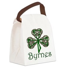 Byrnes Shamrock Canvas Lunch Bag