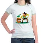 Funny Pirate Jr. Ringer T-Shirt