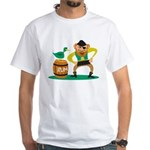 Funny Pirate White T-Shirt