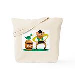 Funny Pirate Tote Bag