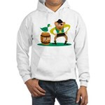 Funny Pirate Hooded Sweatshirt