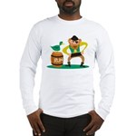 Funny Pirate Long Sleeve T-Shirt