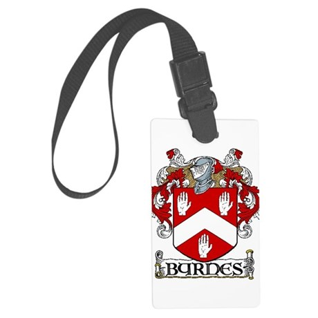 Byrnes Coat of Arms Large Luggage Tag