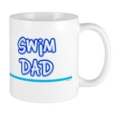 Swim Dad (girl) blue suit Mug
