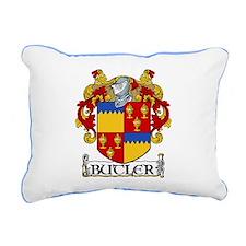 Butler Coat of Arms Rectangular Canvas Pillow