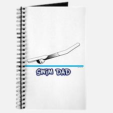 Swim Dad (girl) black suit Journal