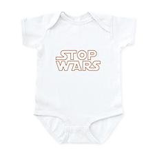 Stop Wars Infant Creeper