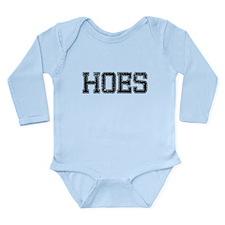 HOES, Vintage Long Sleeve Infant Bodysuit