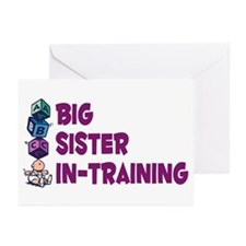 Cute For siblings Greeting Cards (Pk of 10)