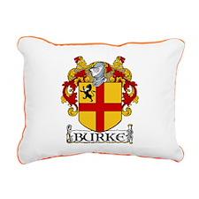 Burke Coat of Arms Rectangular Canvas Pillow