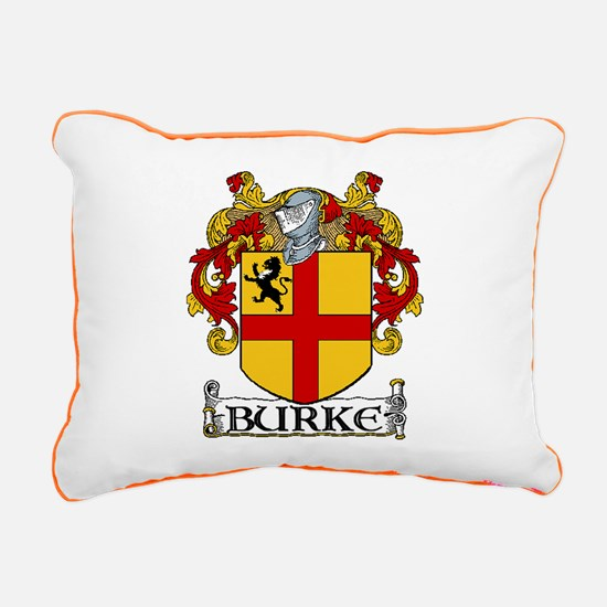 Burke Coat of Arms Rectangular Canvas Pillow