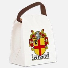 Burke Coat of Arms Canvas Lunch Bag