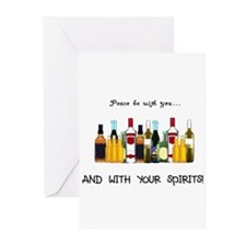 And With Your Spirits Greeting Cards (Pk of 20)