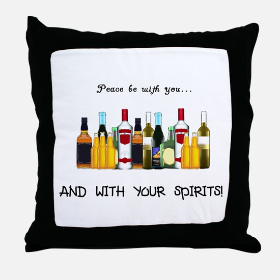 And With Your Spirits Throw Pillow