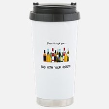 And With Your Spirits Travel Mug