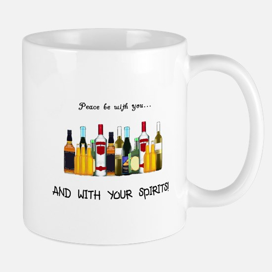 And With Your Spirits Mug