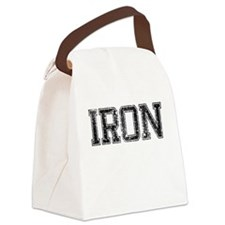 IRON, Vintage Canvas Lunch Bag
