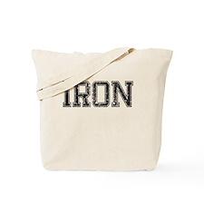 IRON, Vintage Tote Bag