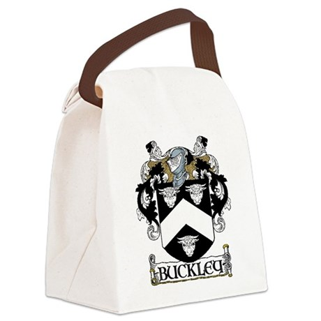 Buckley Coat of Arms Canvas Lunch Bag