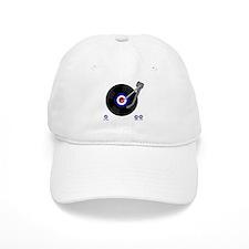 Retro Mod vinyl record Player Baseball Cap