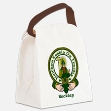Buckley Clan Motto Canvas Lunch Bag