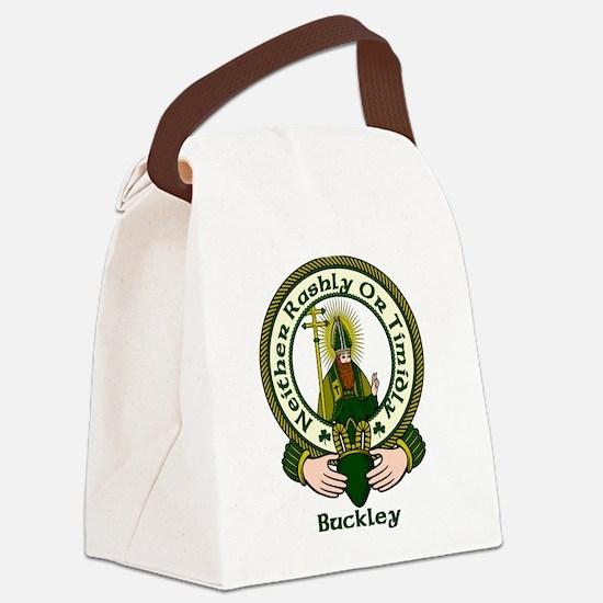 Buckley Clan Motto Canvas Lunch Bag
