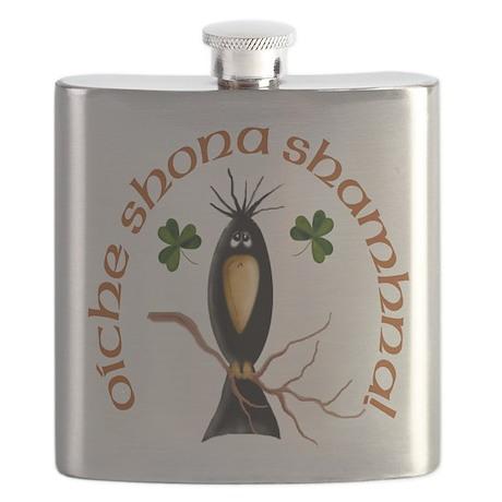 Gaelic Black Crow Flask