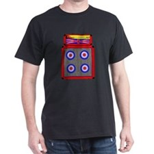 Retro British Mod amp T-Shirt