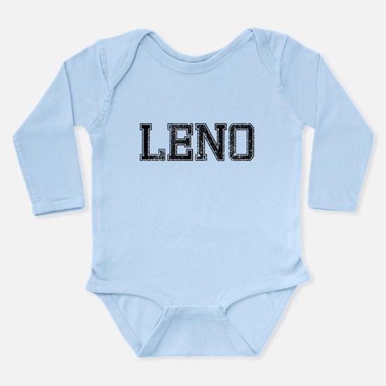 LENO, Vintage Long Sleeve Infant Bodysuit