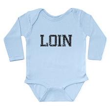 LOIN, Vintage Long Sleeve Infant Bodysuit