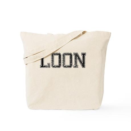 LOON, Vintage Tote Bag