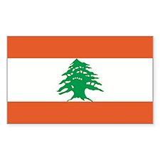 Lebanon Rectangle Decal