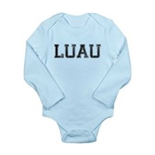 LUAU, Vintage Long Sleeve Infant Bodysuit