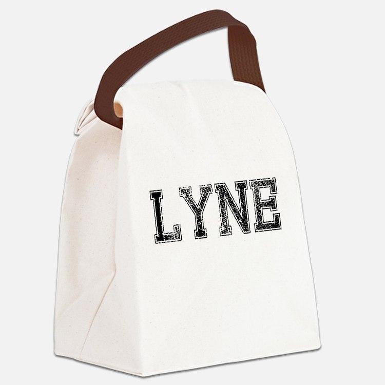 LYNE, Vintage Canvas Lunch Bag