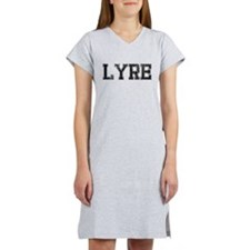 LYRE, Vintage Women's Nightshirt