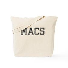 MACS, Vintage Tote Bag