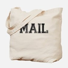 MAIL, Vintage Tote Bag