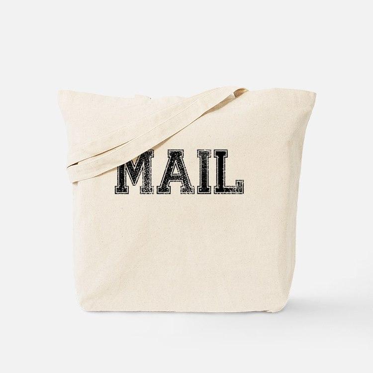 MAIL, Vintage Tote Bag