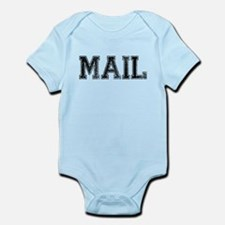 MAIL, Vintage Infant Bodysuit