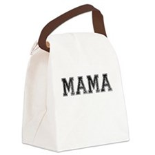 MAMA, Vintage Canvas Lunch Bag