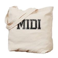 MIDI, Vintage Tote Bag