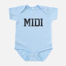 MIDI, Vintage Infant Bodysuit