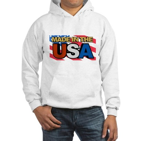 Made in The USA Hooded Sweatshirt