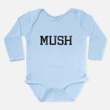 MUSH, Vintage Long Sleeve Infant Bodysuit